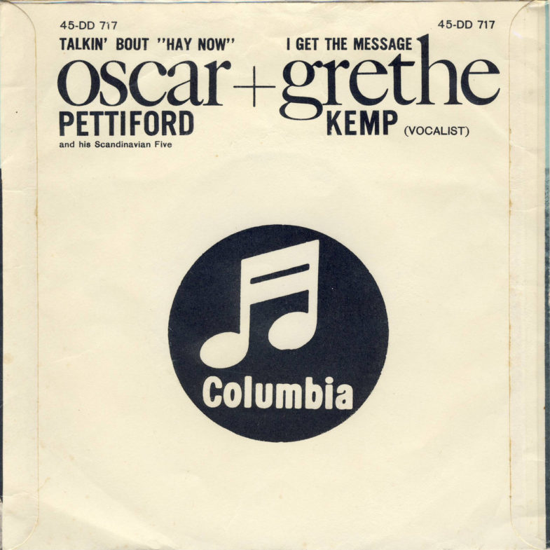 Grethe Kemp ① I Get the Message SK.Columbia DD717-2