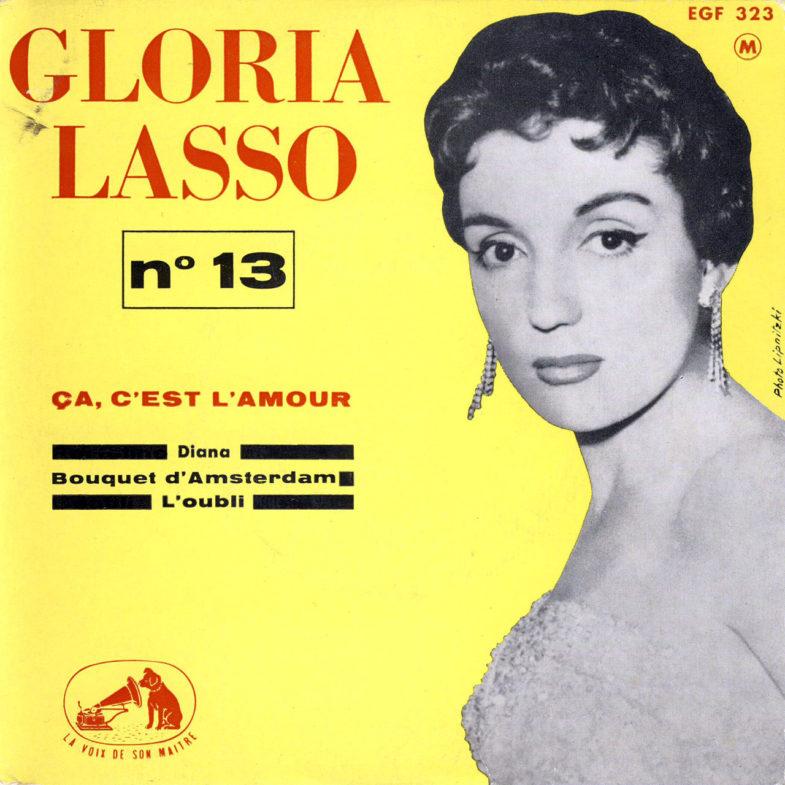 Gloria Lasso ② CA Cest L Amour F.RCA EFG323-1