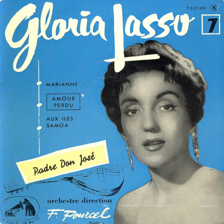 Gloria Lasso ① Marianne F.RCA EFG253-1