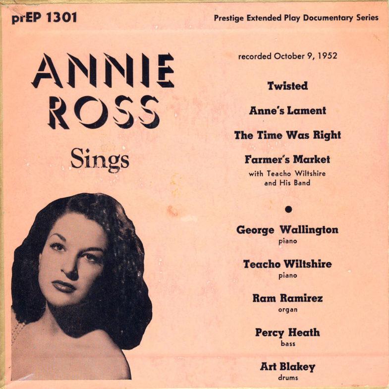 Annie Ross Sings Prestige PREP1301-1