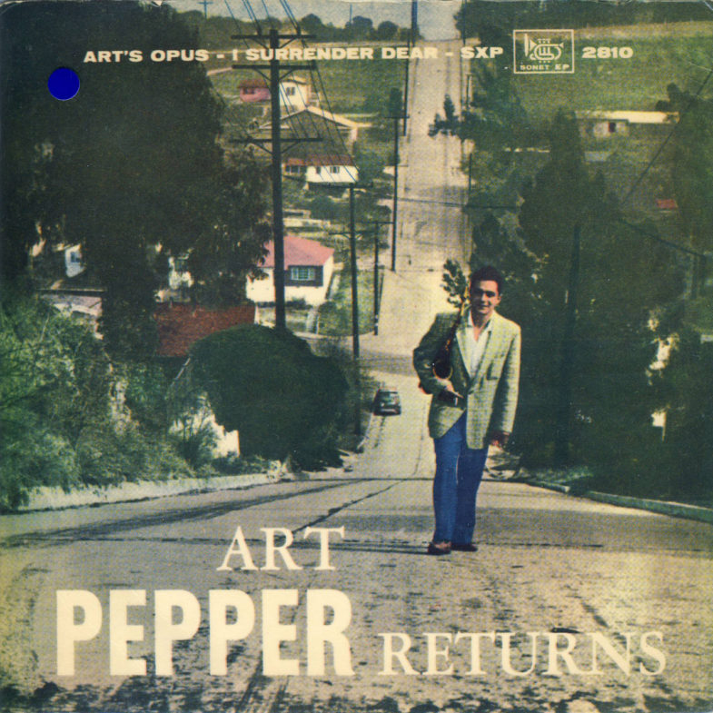 Art Pepper Quartet Sonet EP2810-1