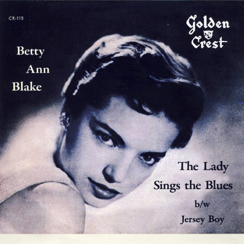 Betty Ann Blake The Lady Sings The Blue Golden Crest CR115-1