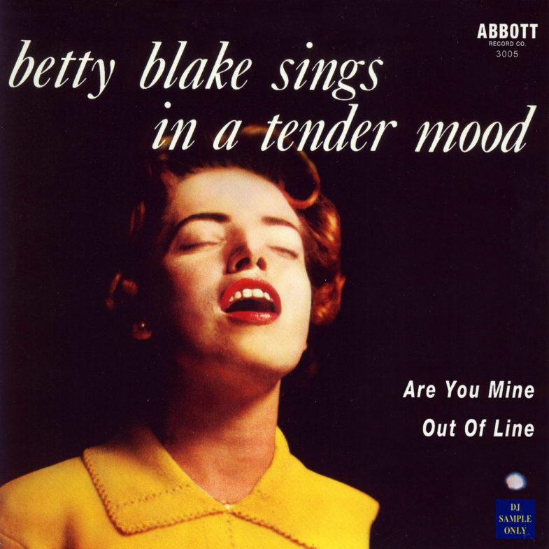 Betty Blake In a Tender Mood Abbott 3005-1