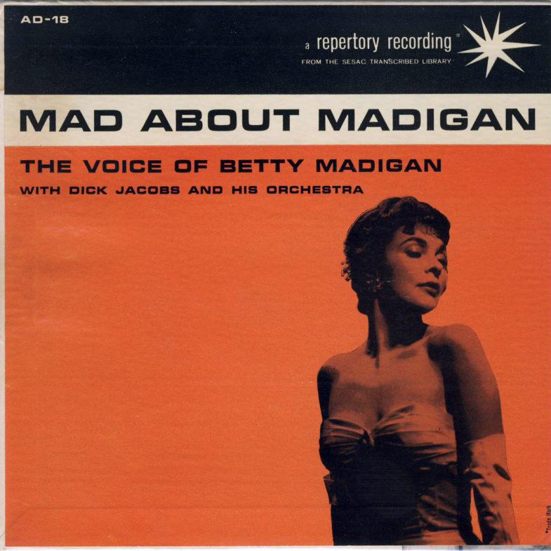 Betty Madigan Mad About Madigan SESAC AD18-1