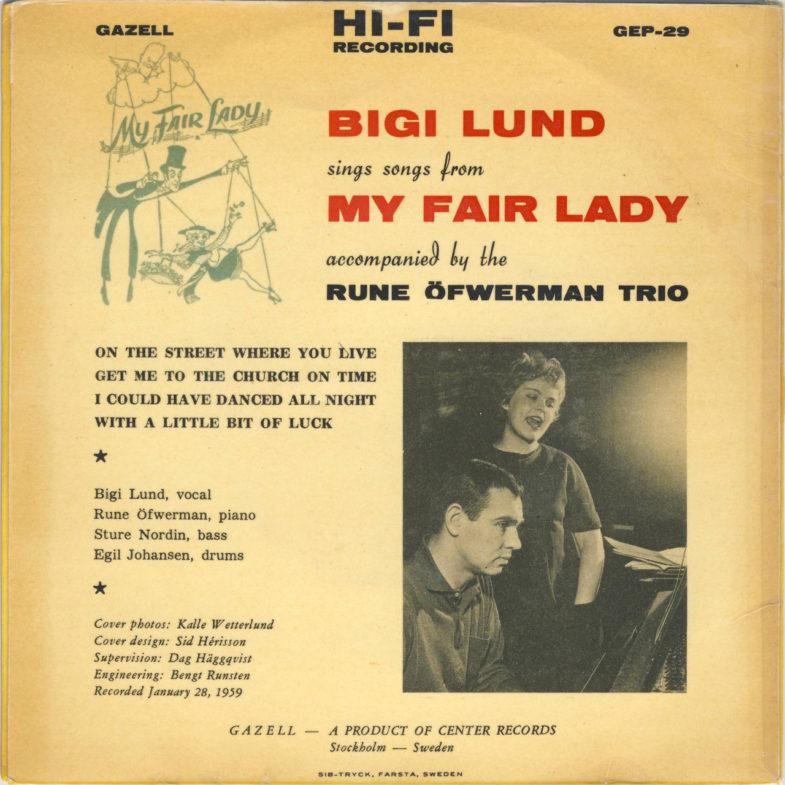 Bigi Lund My Fair Lady Gazell GEP29-2