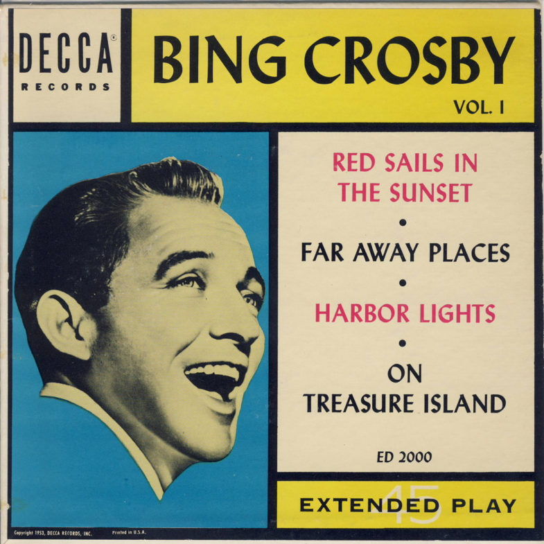 Bing Crosby Vol.1 DECCA ED2000-1