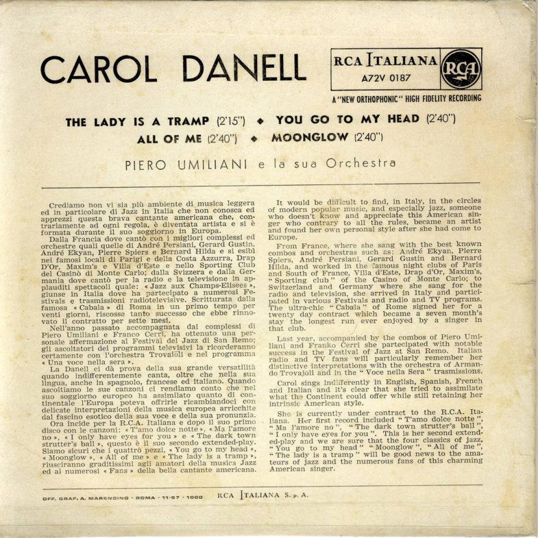 Carol Danell RCA.Italiana A72V0187-2