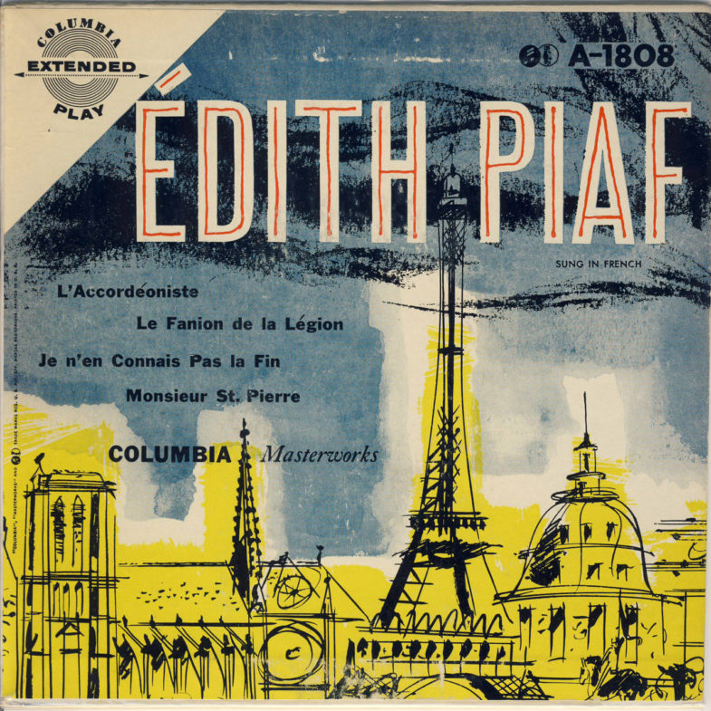 Edith Piaf Monsieur St Pierre F.Columbia A1808-1