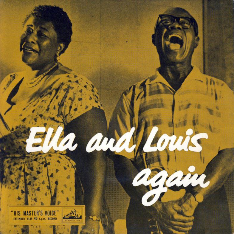 Ella Fitzgereld Ella and Louis Again HMV 7EG8436-1