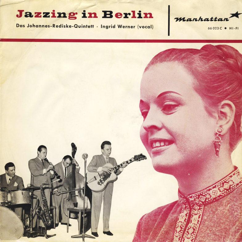 Inge Werner Jazzing in Berlin Manhattan 66023C-1