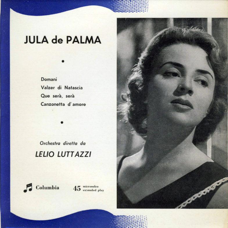 Jula de Palma It.Columbia SEDQ651-1