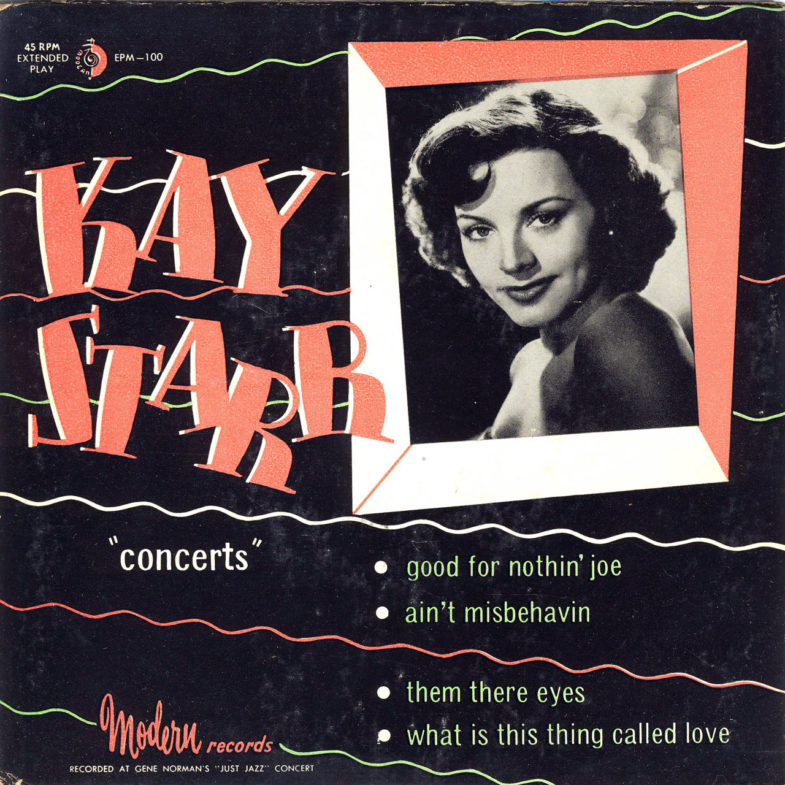 Kay Starr Concerts Modern EPM100-1