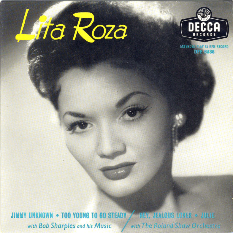 Lita Roza Jimmy Unknow DECCA DFE6386-1