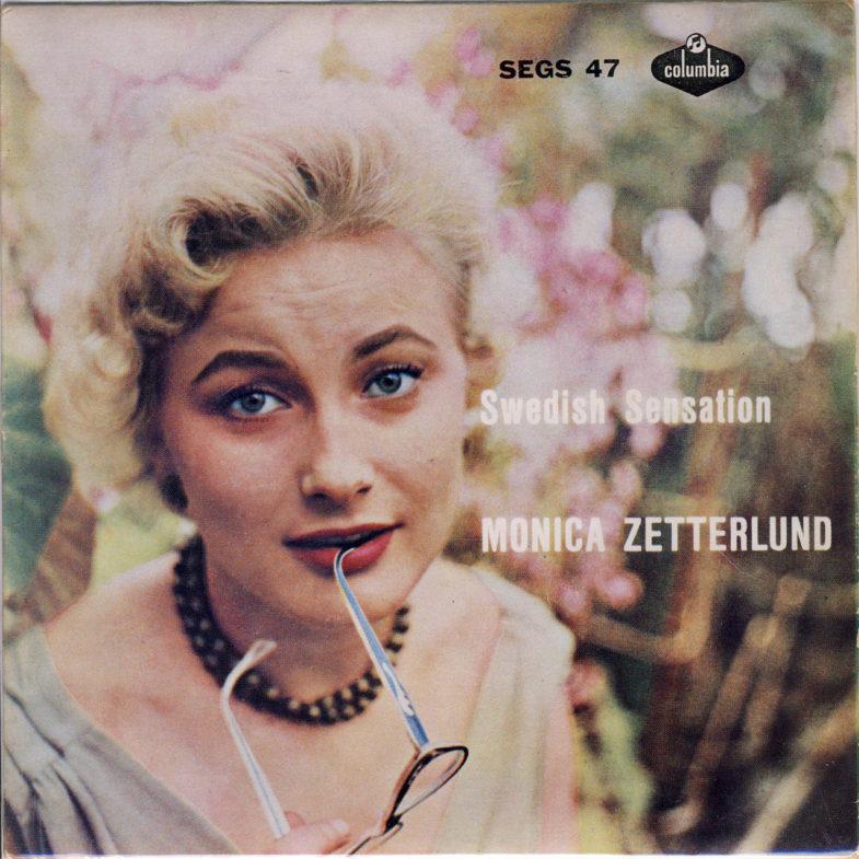 Monica Zetterlund Swedish Sensation Columbia SEGS47-1