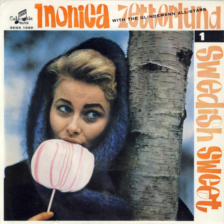 Monica Zetterlund Swedish Sweet 1 Columbia SEGK1040-1