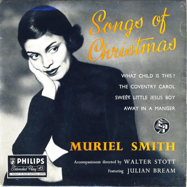 Muriel Smith Songs of Christmas Philips 425006BE-1