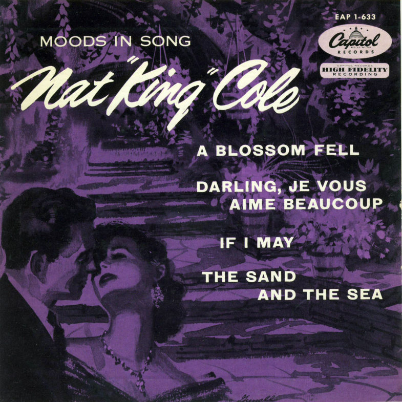Nat King Cole Moods in Song Capitol EAP1633-1