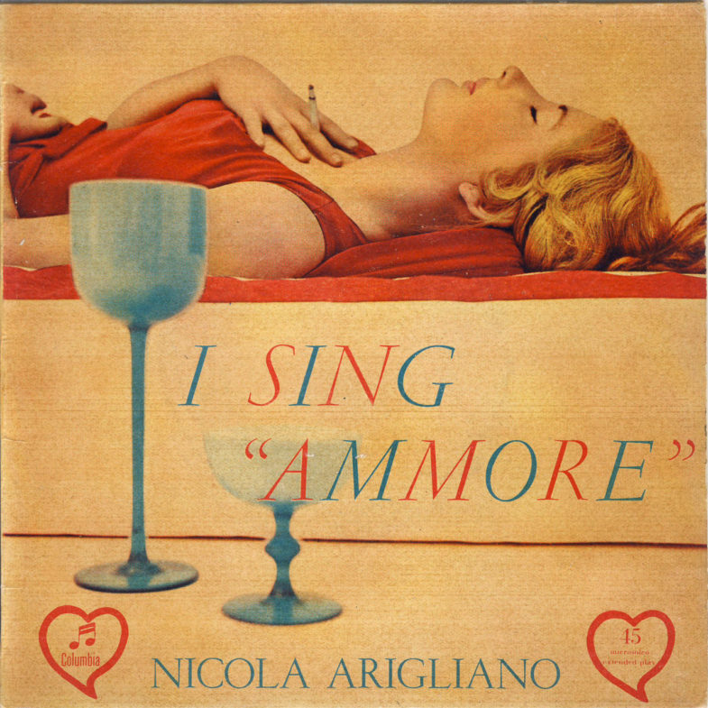 Nicola Arigliano I Sing Ammore Columbia SEMQ133-1