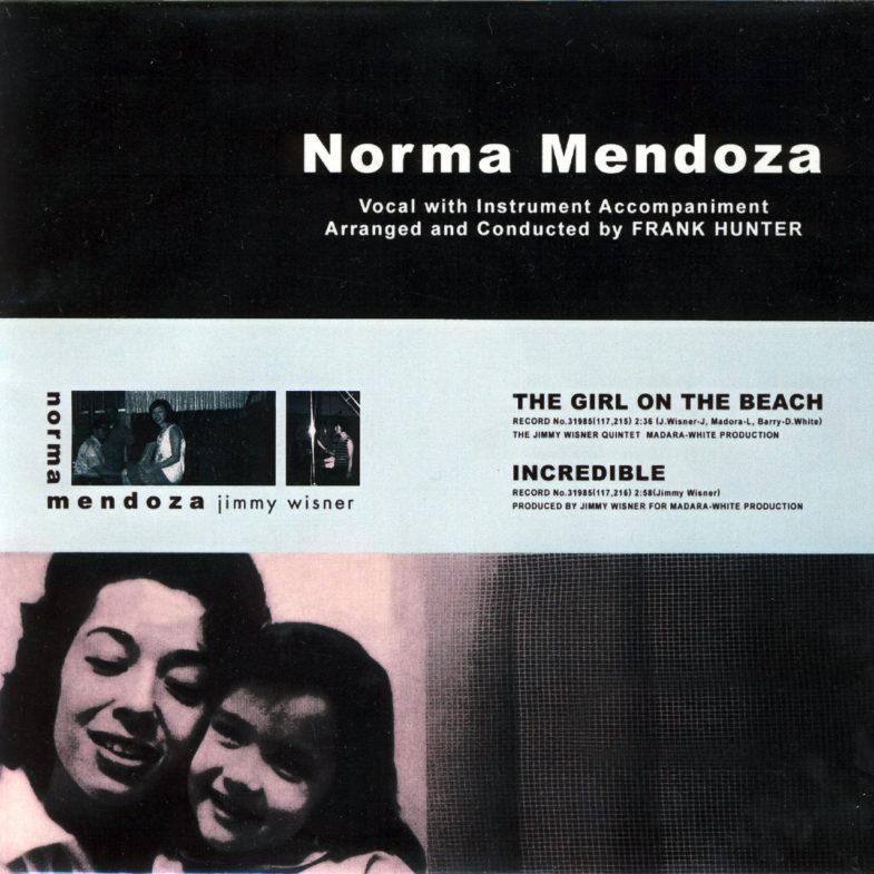 Norma Mendoza The Girl on the Beach DECCA 31985-1