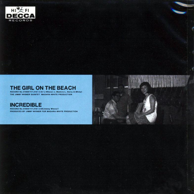 Norma Mendoza The Girl on the Beach DECCA 31985-2