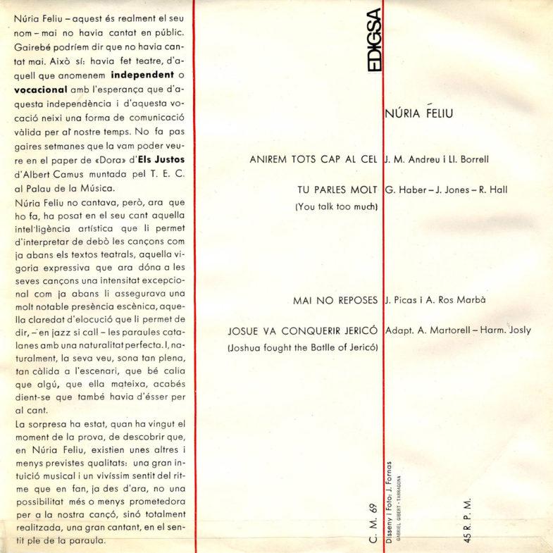 Nuria Feliu EDIGSA CM069-2