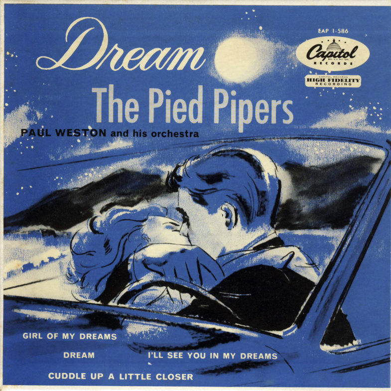 Pied Pipers Dream Capitol EAP1586-1