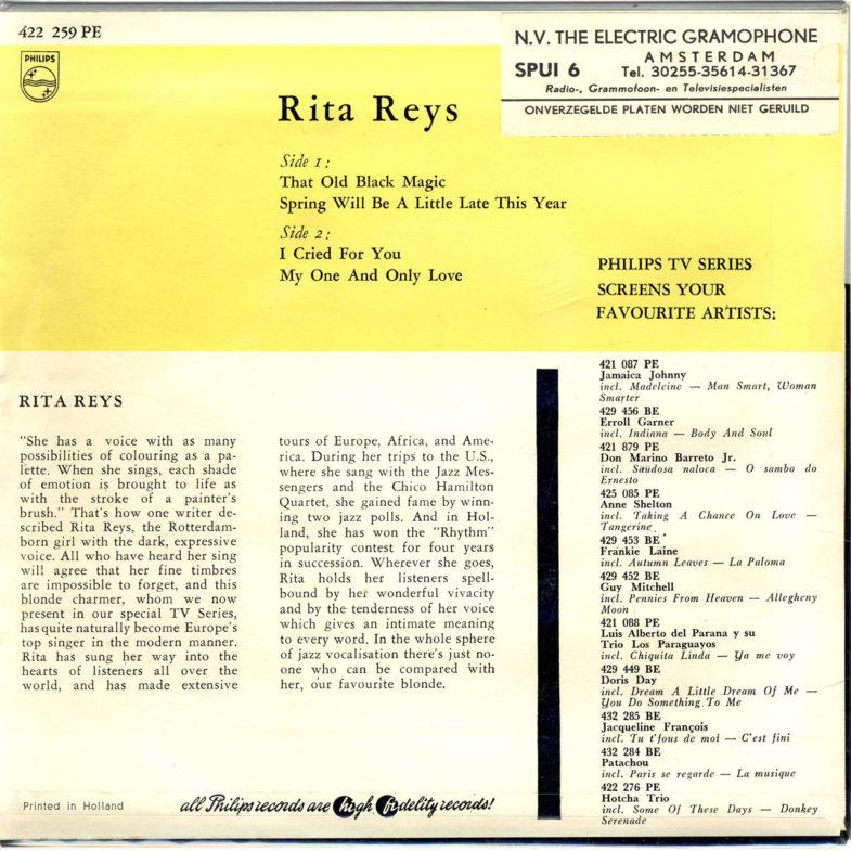 Rita Reys Philips 422259PE-2