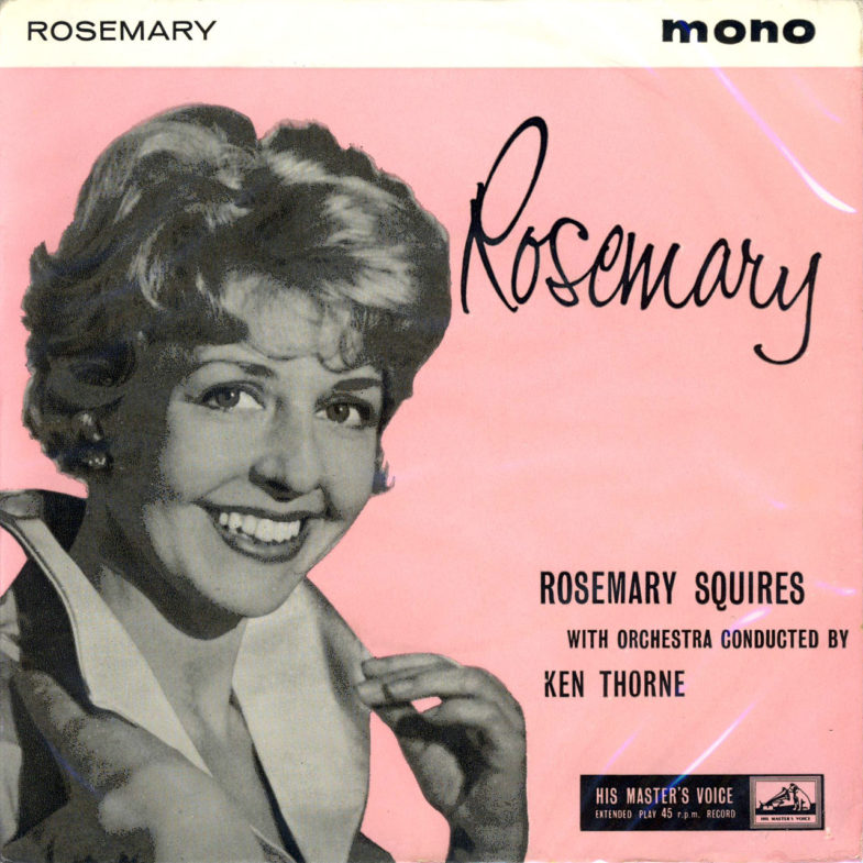Rosemary Squires Rosemary H.M.V. 7EG8588-1