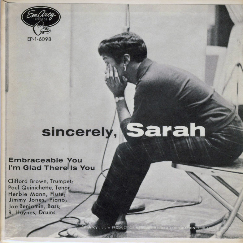Sarah Vaughan Sincerely Emarcy EP16098-1