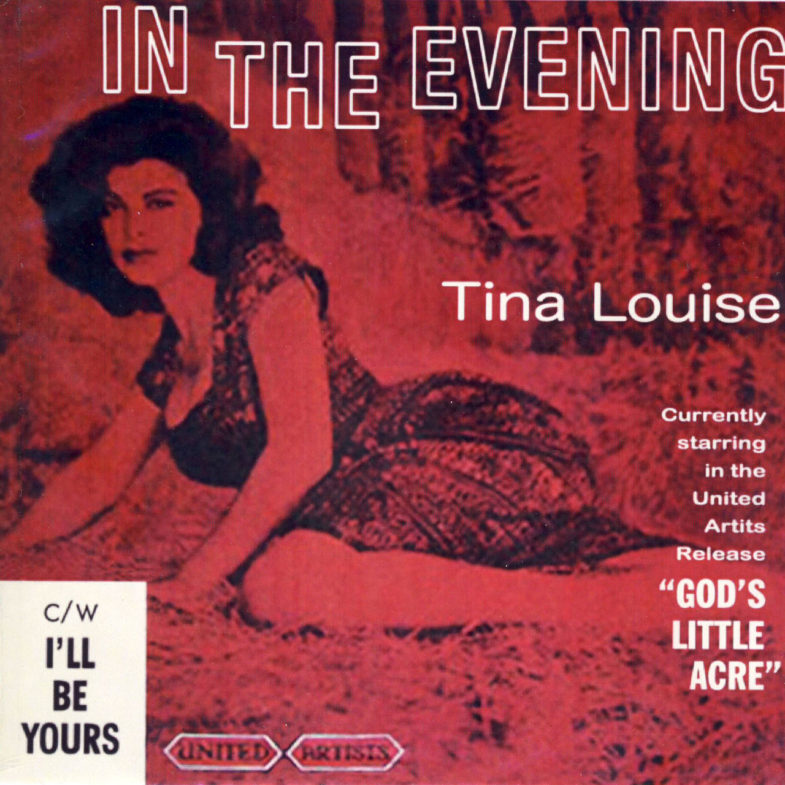 Tina Louise I ll Be Yours United Artists UA127-2