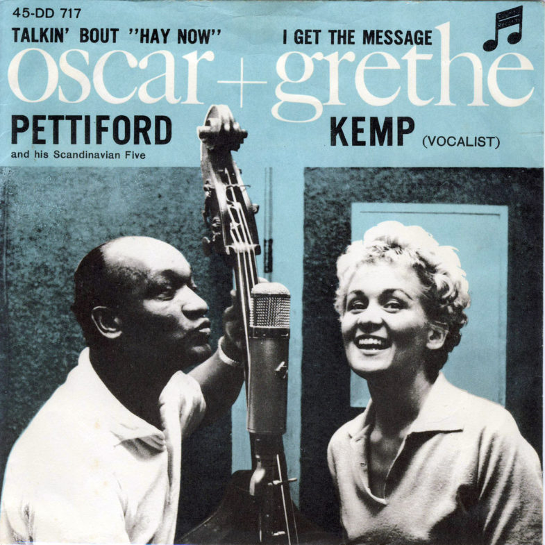 Grethe Kemp ① I Get the Message SK.Columbia DD717-1