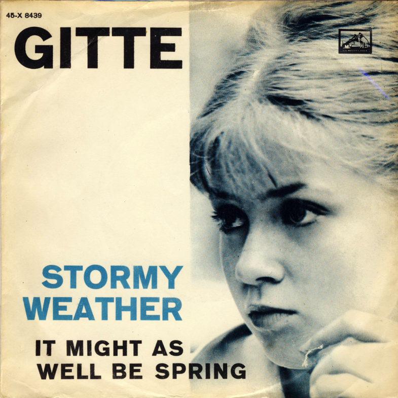 Gitte Haenning ① Stormy Weather X8439-1